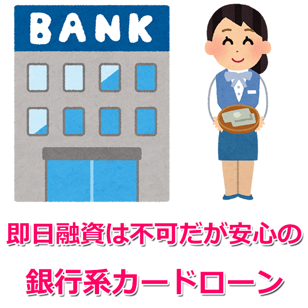 銀行系カードローン