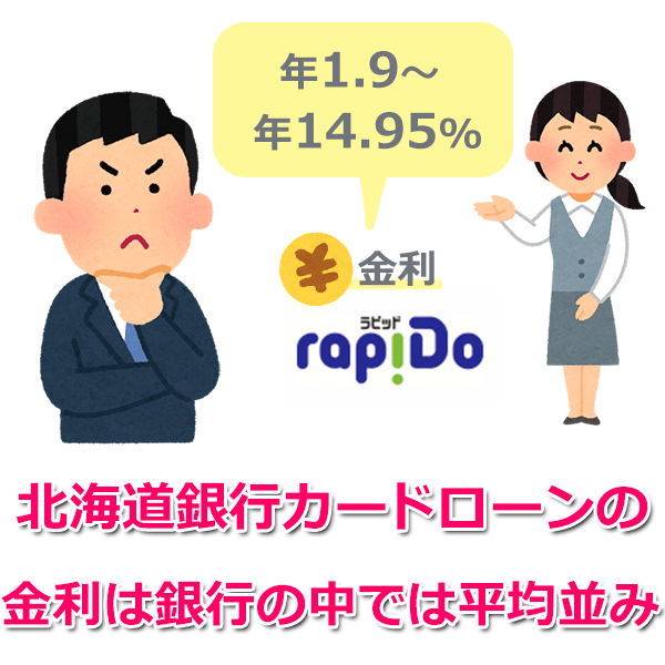 北海道銀行カードローン「ラピッド」