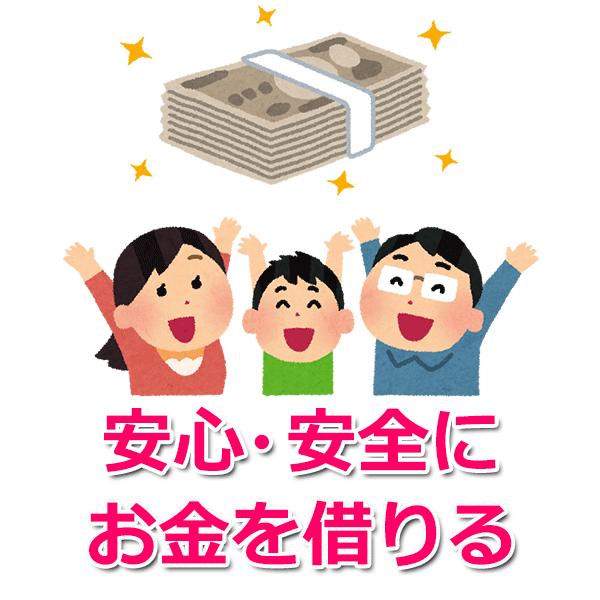 お金を借りる