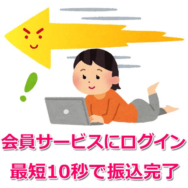 PC、スマホ、携帯のインターネット会員サービスにログイン