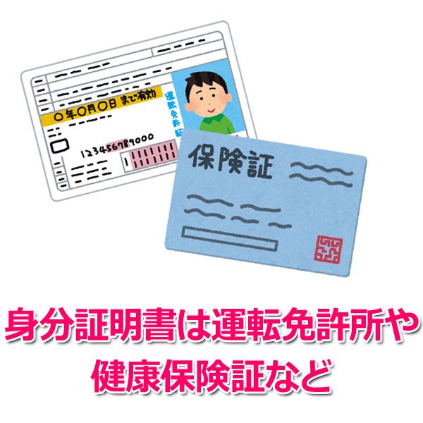 1.身分証明書