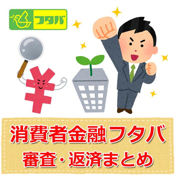 キャッシング・消費者金融のフタバ【返済まとめ】