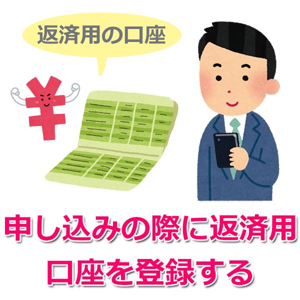 ①仮審査申し込み