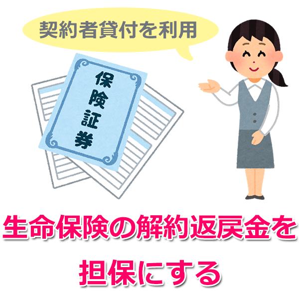 4.生命保険の契約者貸付を利用