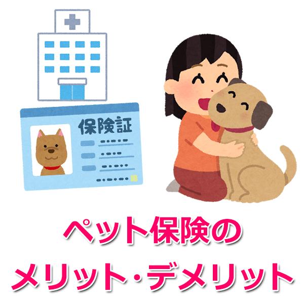 ところで、「ペット手術費」に保険はきくの?