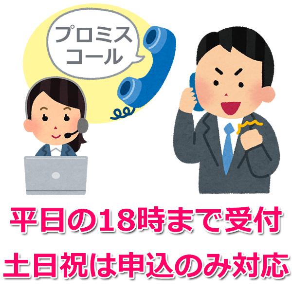 2.電話(プロミスコール)