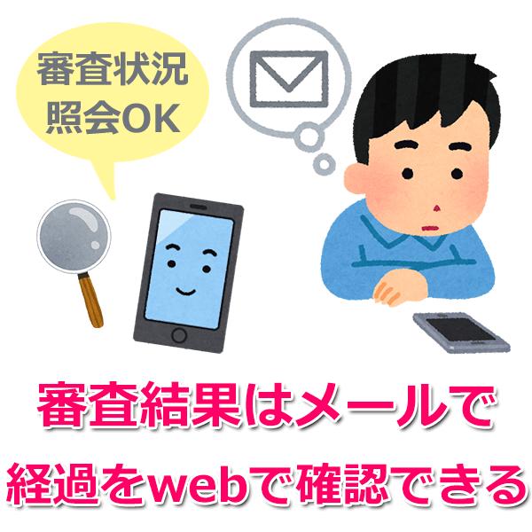 5.審査結果連絡